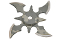 Weighted Throwing Star w/ Case - Green Camo