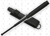 "16"" Deluxe Steel Self Defense Police Baton & Nylon Sheath"