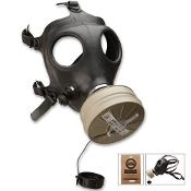 Israeli Military Surplus Survival Gas Mask with Filter