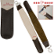 Black & White Shaving Straight Razor w/ 2 Sided Leather Strop