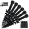 Black Legion Undead Reaper 6 Piece Throwing Knife Set w/ Sheath