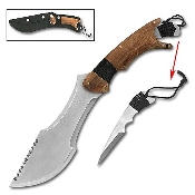 Paratrax Bowie Knife with Extra Removable Blade