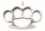 Brass Knuckles - Black & Silver