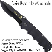 Extreme Spring Assisted Opening Pocket Knife - SHERIFF