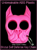 Brutus Self Defense Keychain - Pink
