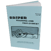 Sniper Training & Employment Army Field Manual Guide Book