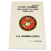 US Marine Corps Close Combat Hand to Hand Fighting Manual Book