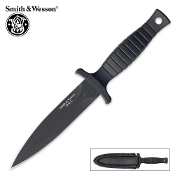Smith & Wesson Combat Ready Black Boot Knife