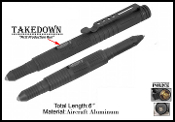 Tactical Pen Self Defense Weapon POLICE Black