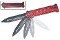 Joker Spring Assisted Opening Pocket Knife Red