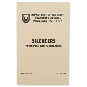 US Army Silencers, Principles, and Evaluations Manual Guide Book
