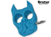 Brutus Self Defense Keychain Light Blue