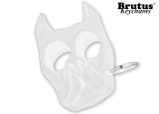 Brutus Self Defense Keychain White
