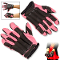 Pink Police Sap Gloves Steel Shot Knuckles Full Length Large