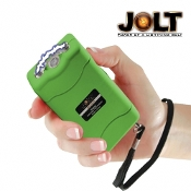 Jolt 20 Million Volt Green Stun Gun Built-In Charger LED Light